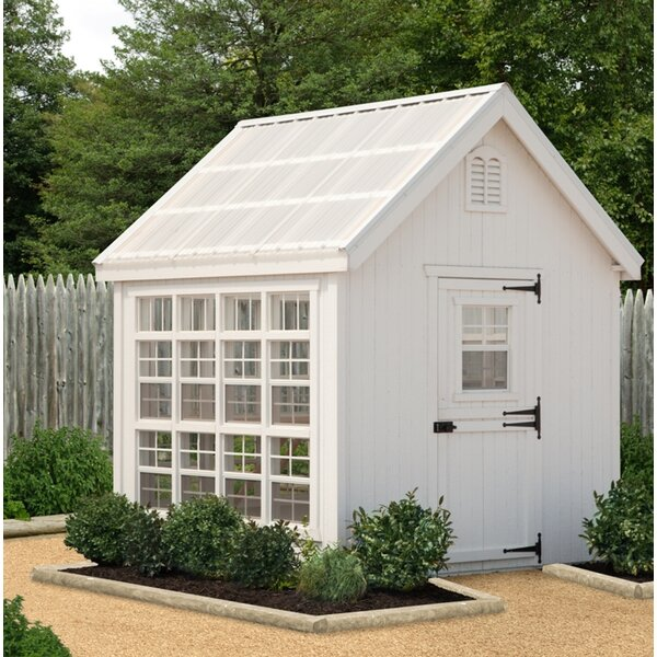 Colonial Gable 8 Ft. W x 8 Ft. D Greenhouse by Little Cottage Company