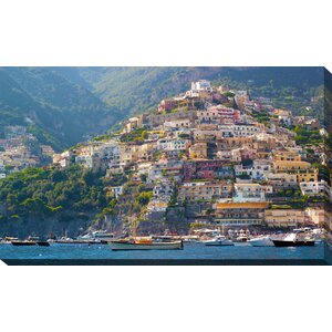 'Positano, Amalfi Coast' Photographic Print on Wrapped Canvas by Picture Perfect International