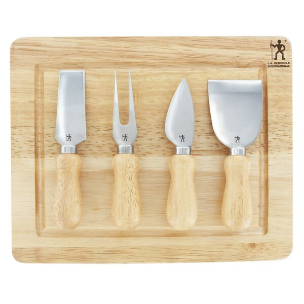 International Cheese Knife Set (Set of 4) by J.A.