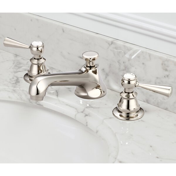 Carlson Lavatory Widespread Faucet With Drain Assembly by dCOR design