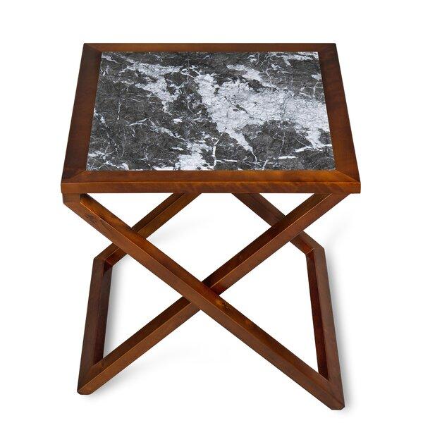 Rothman X/Cross Legs End Table By Red Barrel Studio