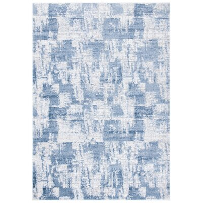 Williston Forgejoziah Abstract Gray Blue Indoor Area Rug Williston Forge Rug Size Rectangle 5 3 X 7 6 Dailymail