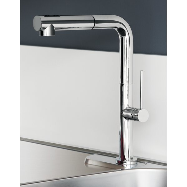 Slim Pull Out Single Handle Kitchen Faucet by Maestro Bath