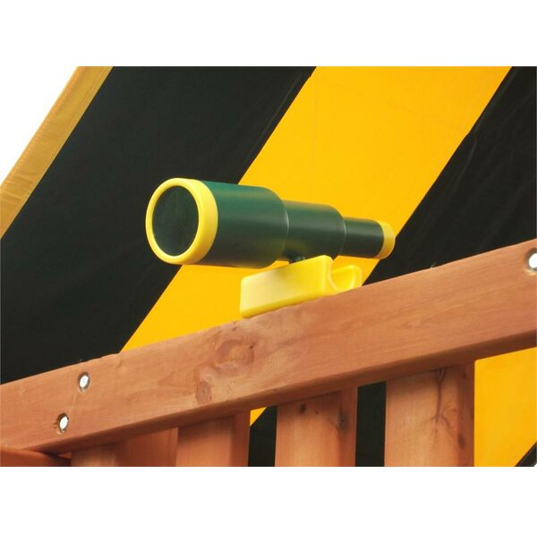 Plastic Telescope by Eastern Jungle Gym