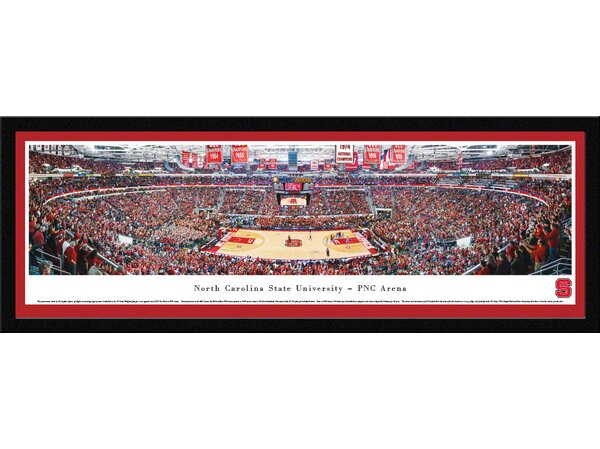 NCAA North Carolina State University - Basketball by Christopher Gjevre Framed Photographic Print by Blakeway Worldwide Panoramas, Inc