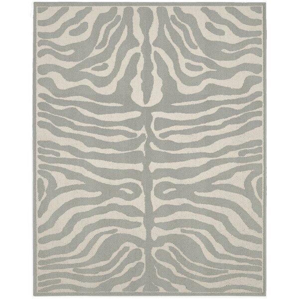 Safari Silver/Ivory Area Rug by Garland Rug