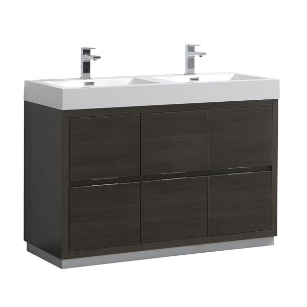 Senza Valencia 48 Double Bathroom Vanity Set by Fresca
