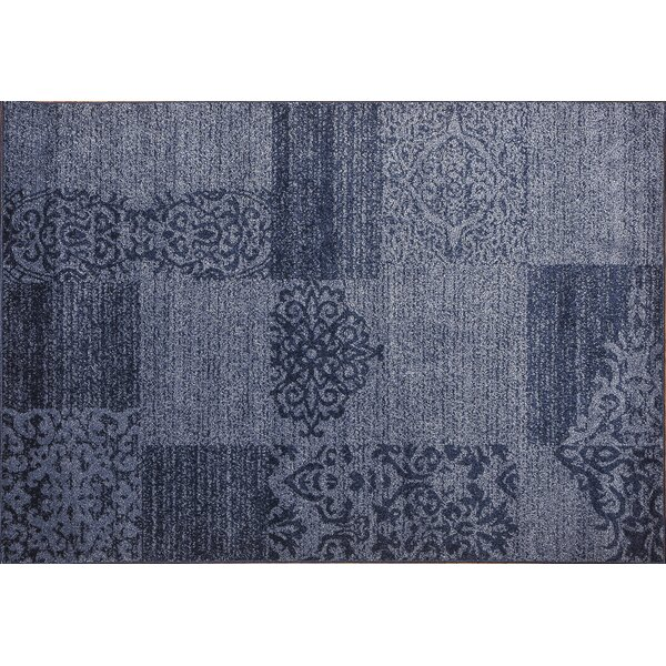 Roxbury Blue Area Rug by Winston Porter