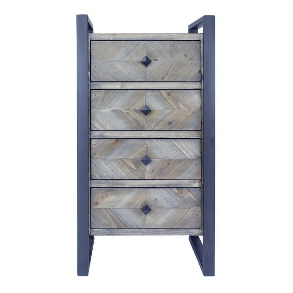 Delphine 4 Drawer Accent Chest by 17 Stories
