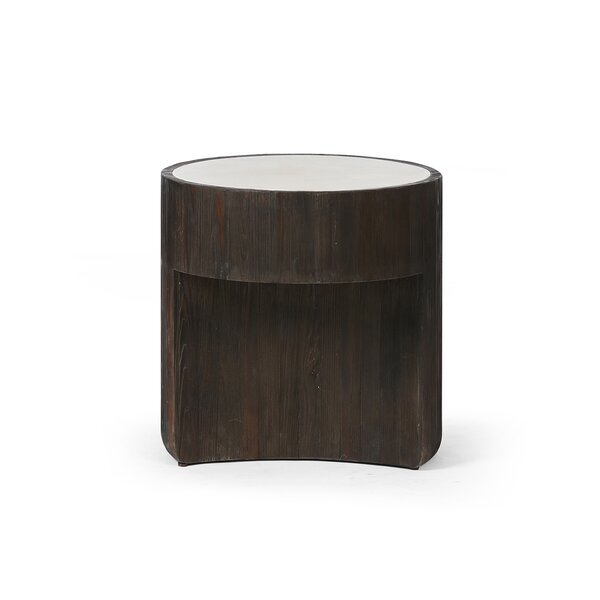 Khadeejah End Table By World Menagerie