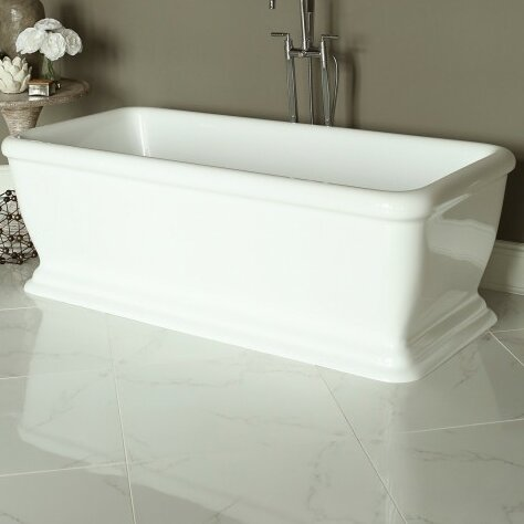 Spirit 69 x 31 Soaking Bathtub by Signature Bath