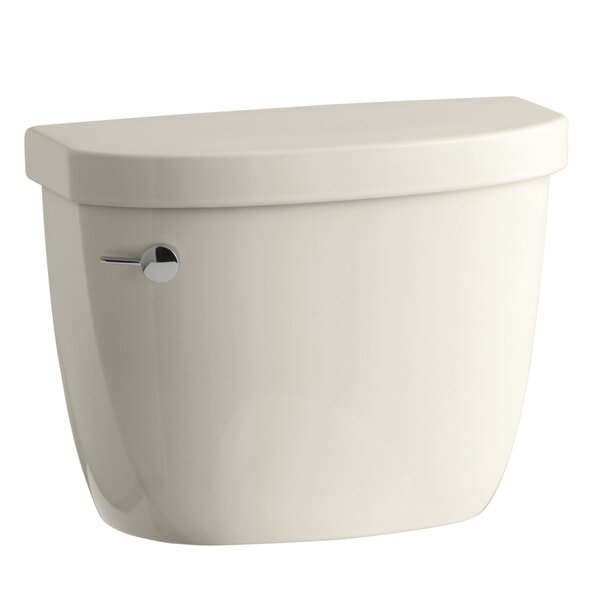 Cimarron 1.6 GPF Toilet Tank with Aquapiston Flush Technology and Tank Locks by Kohler
