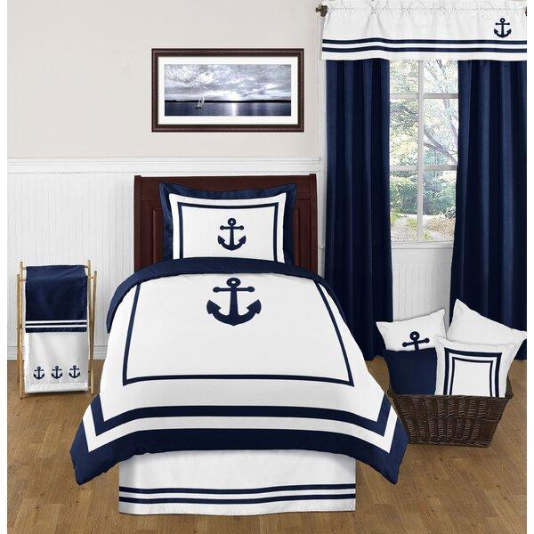 Anchors Away 4 Piece Comforter Set by Sweet Jojo Designs
