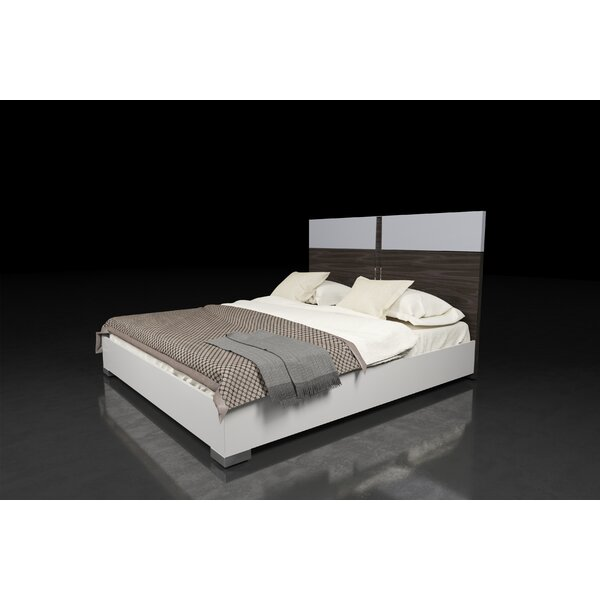 Vernita Italian Modern King Platform Bed by Orren Ellis