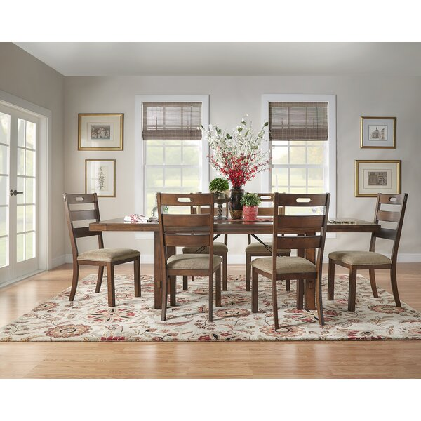 Axton 7 Piece Extendable Solid Wood Dining Set by Laurel Foundry Modern Farmhouse