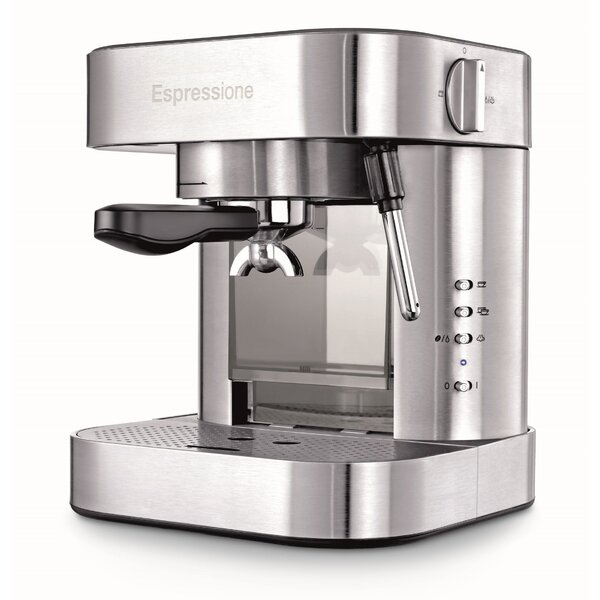 Stainless Steel Automatic Pump Espresso Machine with Thermo Block by Espressione