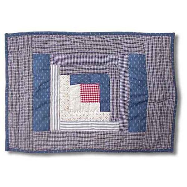 Sail Log Cabin Placemat by Patch Magic