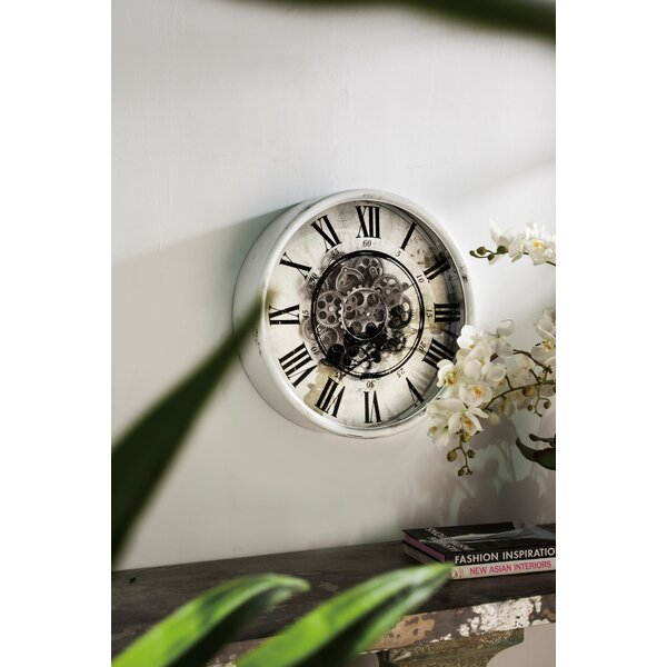 Vintage 20 Gear Wall Clock by 17 Stories