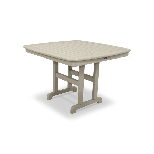 Yacht Club Plastic/Resin Dining Table by Trex Outdoor