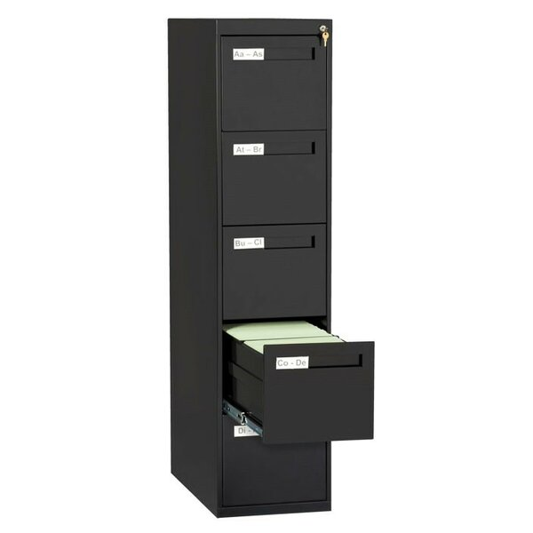 5 Drawer Vertical Filing Cabinet by Symple Stuff