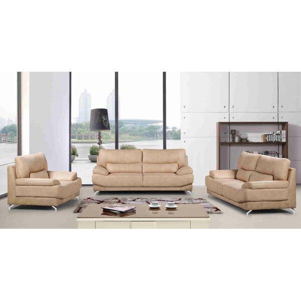 Sormanti 3 Piece Living Room Set by Red Barrel Studio