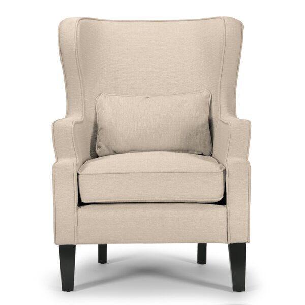 Ayres Wingback Chair by Charlton Home