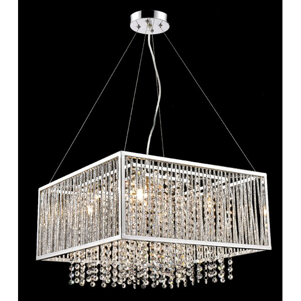 Tenley 5-Light Unique / Statement Rectangle / Square Chandelier By House Of Hampton