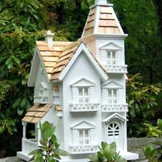 Classic Series Victorian Manor 15 in x 10 in x 9 in Birdhouse by Home Bazaar
