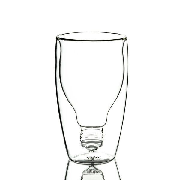 Good Idea 14 oz. Double Wall Glass (Set of 2) by Highwave Inc.