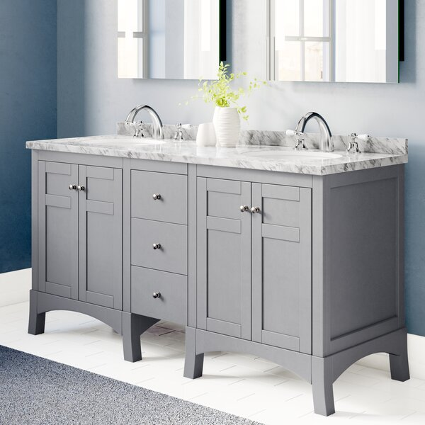 Piccirillo 60 Double Bathroom Vanity Set by Brayden Studio