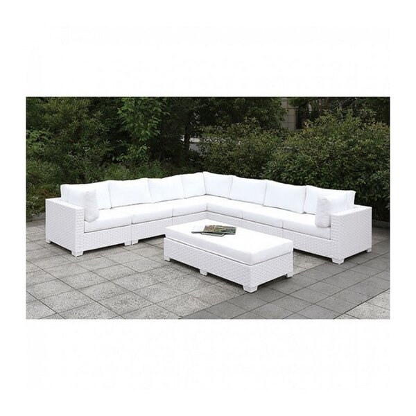 Lukes 2 Piece Sectional Seating Group with Cushions by Brayden Studio