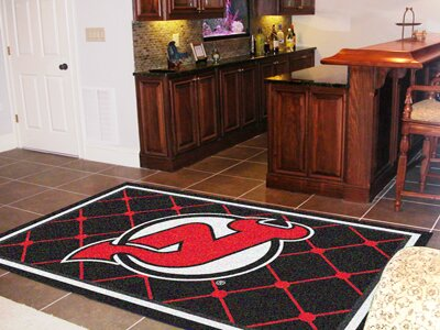 NHL - New Jersey Devils 5x8 Rug by FANMATS