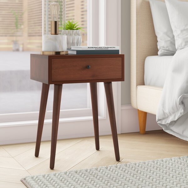 Pelham End Table With Storage By Langley Street™