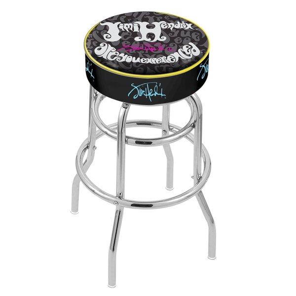 Jimi Hendrix 25 Swivel Bar Stool by Holland Bar Stool