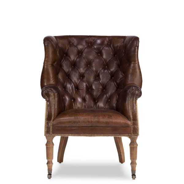 Morford Welsh Wingback Chair by Astoria Grand