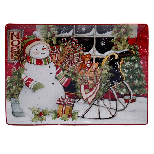 Rectangular Platter by The Holiday Aisle