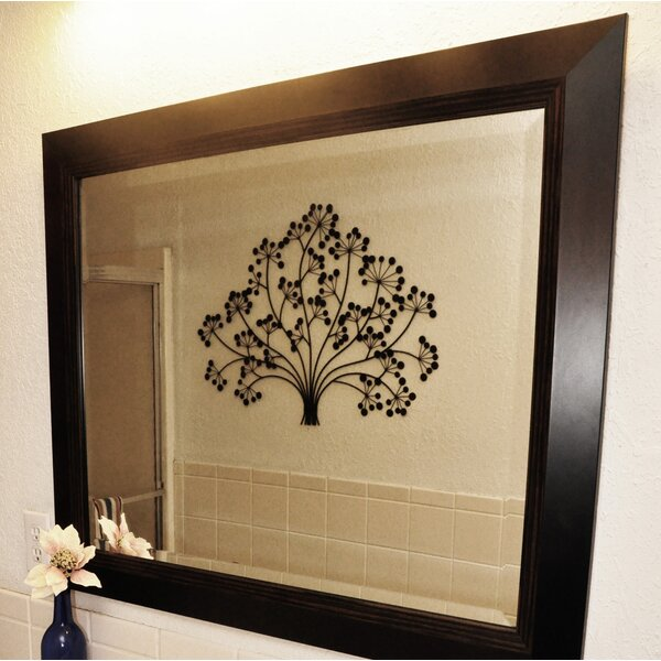 Rectangle Lining Wall Mirror by Darby Home Co