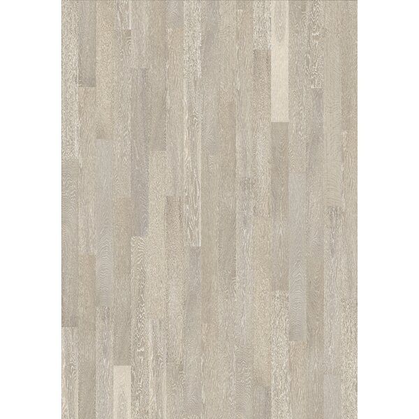 Spirit 5 Engineered Oak Hardwood Flooring in Arctic by Kahrs