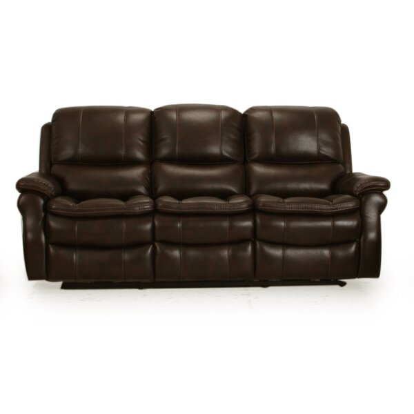 Modern Brand Hallowell Dual Power Reclining Sofa by Latitude Run by Latitude Run