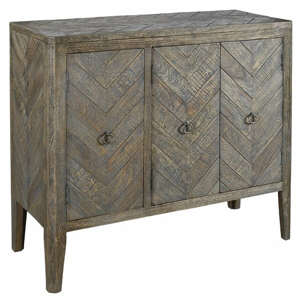 Kowalski 3 Door Accent Cabinet by Millwood Pines Millwood Pines