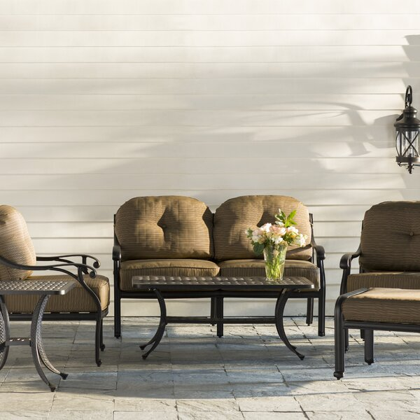 Levingston 6 Piece Sofa Set with Cushions by Three Posts