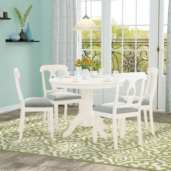Adda 5 Piece Dining Set by Charlton Home