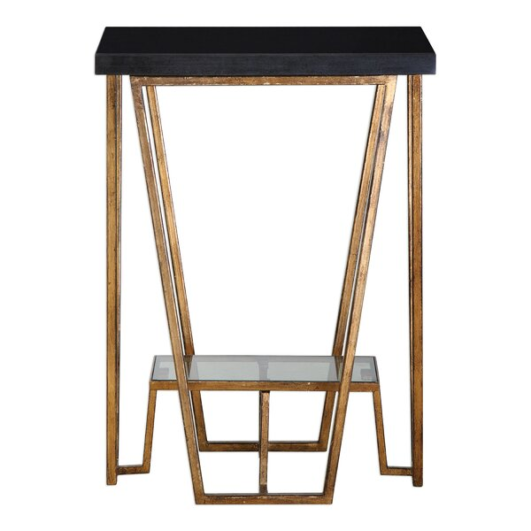 Bridges End Table by Brayden Studio