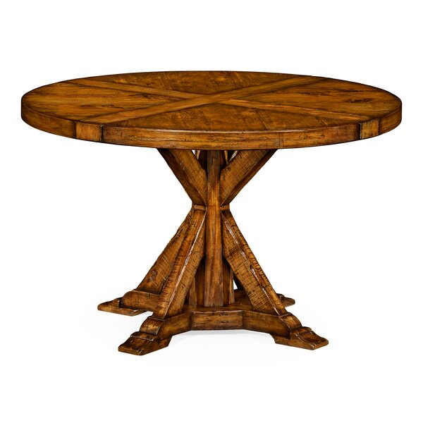 Circular Solid Wood Dining Table by Jonathan Charles Fine Furniture Jonathan Charles Fine Furniture