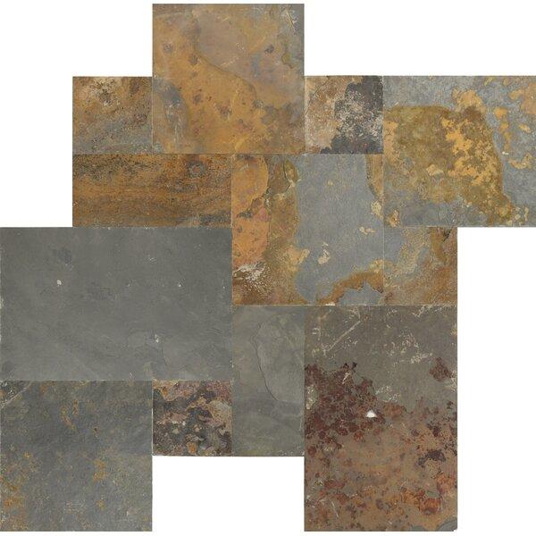 Gauged 16 x 24 Slate Field Tile