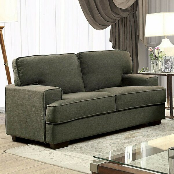 Campbell Contemporary Loveseat by Brayden Studio