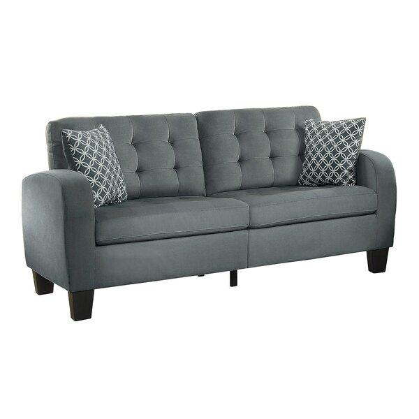 Casilla Contemporary Wooden Sofa By Ebern Designs