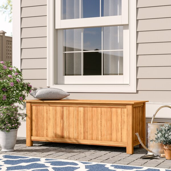 Summerton Teak Deck Box by Birch Lane Heritage Birch Lane™ Heritage