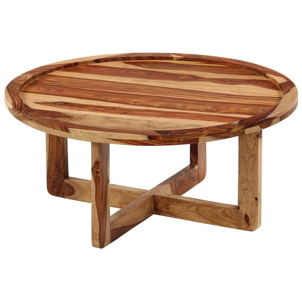 Hoehne Trestle Coffee Table By Millwood Pines