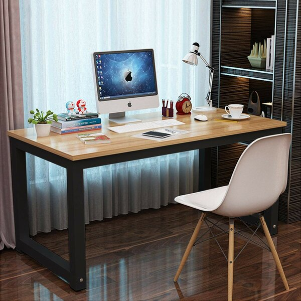 Barger Professional Modern Plain Writing Desk by Wrought Studio